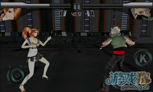 3d极限格斗游戏:美女格斗