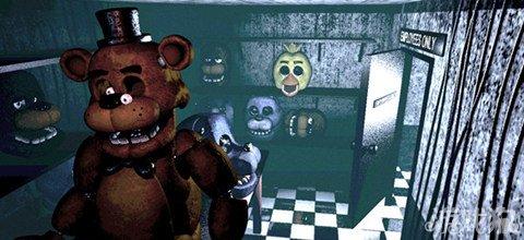 玩具熊的五夜后宫图片